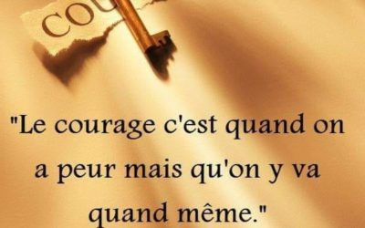 Ayez le courage d'essayer !